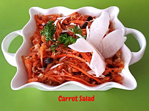 Food Presentations / Carrot salad