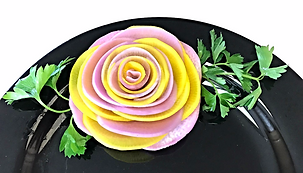 Vegetable decorations / Food decorating