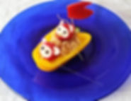 Children food decorations / vegetable garnishing