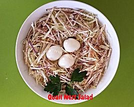 Food presentation / salad