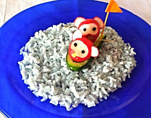 Kids food decoration ,vegetable garnishing for kids