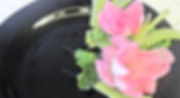 Onion food decoration / vegetable garnish