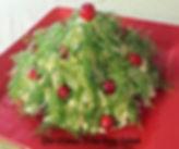 Christmas and New Year Food Presentations / Salad