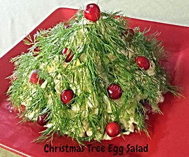 Christmas and New Year Food Presentations / Salad