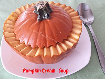 Pumpkin dishes / Food Decoration