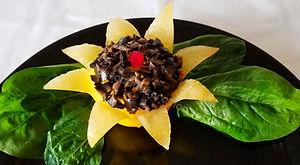 Vegetable decorations / Vegetable garnish
