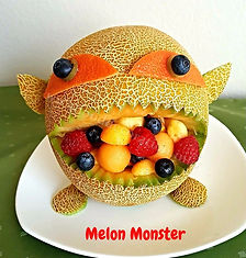 Food for kids/ Fruit decorating