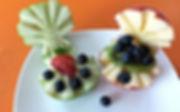 Food dercoration / apple garnish