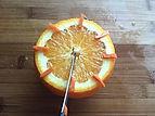 Orange decorating / Food decorating