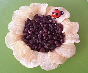 Kids food decorating / dish for children