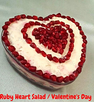 Valentine's Day food decoration
