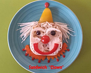 Kids food decoration