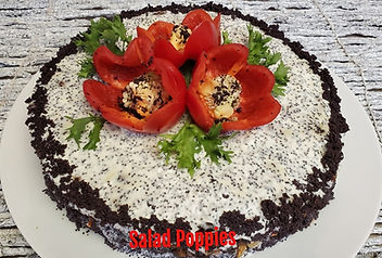 Salad Red Poppies