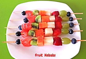 Fruit decoration for kids / dish for kids