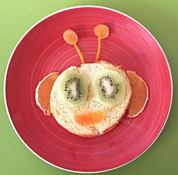 Kids food decoration / bread garnish for kids