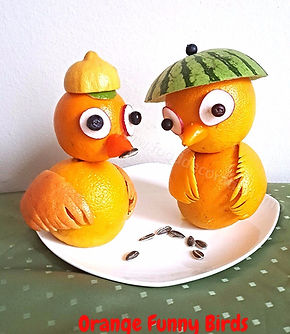 Fruits for kids / Fruit decorating
