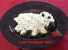 New Year Salad / Food Decorating