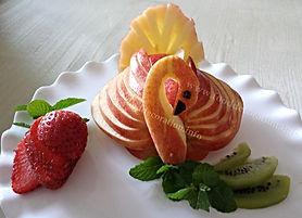 Apple garnish / Fruit decoration