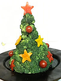 Food decoration / Broccoli decoration