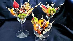 Fruits Dessert - Fruits on Skewers