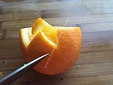 Fruit garnishing / orange decorating