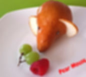 Food decoration for kids / Pear for kids