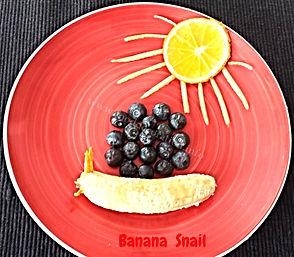fun food for kids, banana, dessert for kids