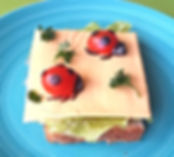Food decorations  for children / sandwich