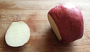 Food decorating /  Apple