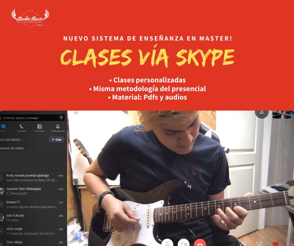 clases skype
