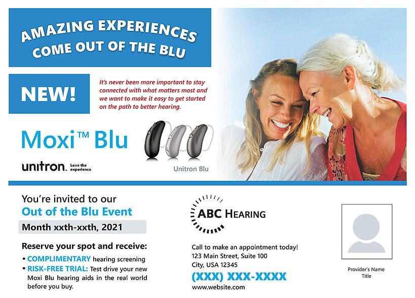 Moxi Blu Jumbo Postcard Series