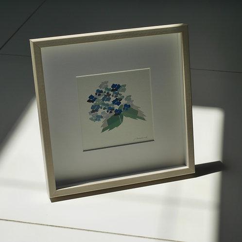 「紫陽花」(フレーム)