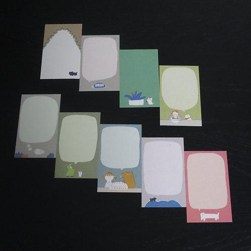 Okawa Nanako メッセージカード