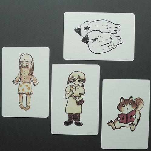 akie ポストカード