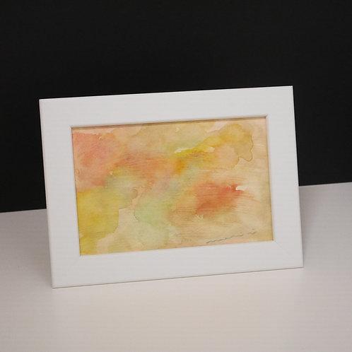mari iwamoto 手描きポストカード(フレーム入り)
