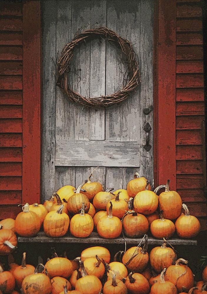 pumpkinsdoor