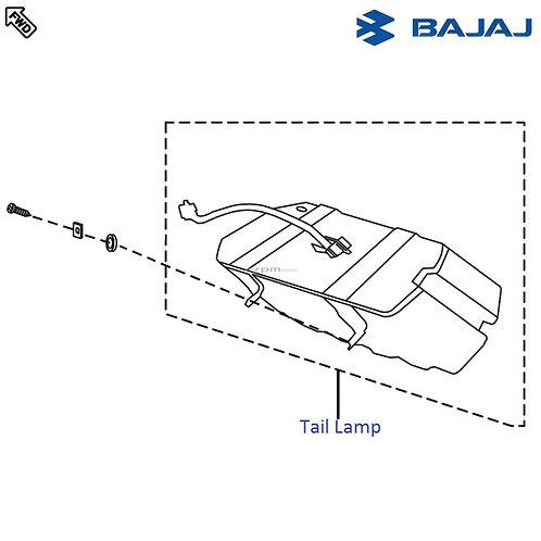 Tail Lamp Assy   Pulsar 220F
