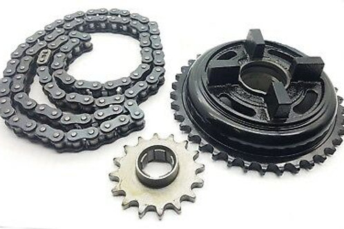 Chain and Sprocket Kit for Royal Enfield Himalayan 350cc (Set of 3)