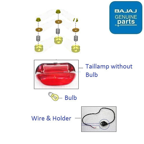 Taillamp for Bajaj Avenger 160/220