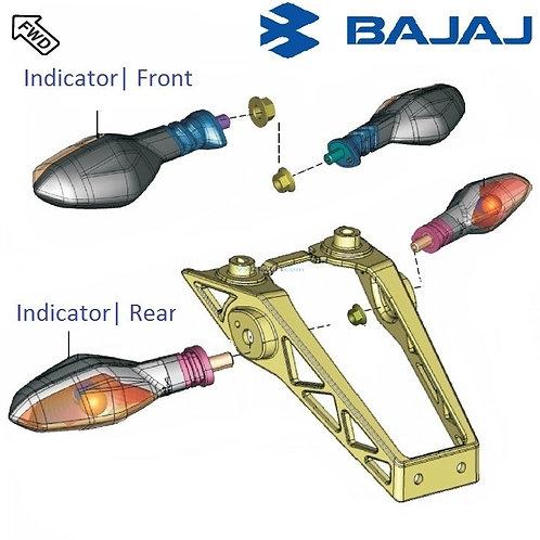 Indicator for Bajaj RS 200