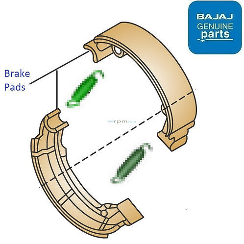 Rear Brake Shoe Avenger 160/220