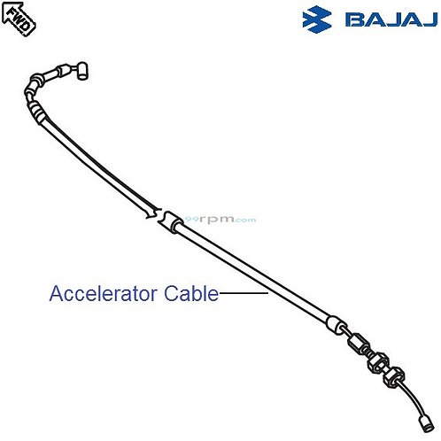 Accelerator Cable for Discover 100/125/150