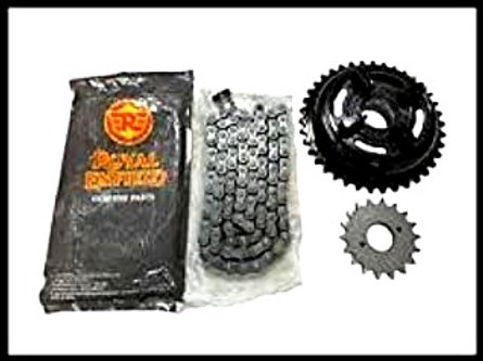 Chain and Sprocket Kit for Royal Enfield 350cc (Set of 3)