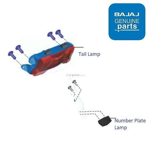 Tail Lamp Set| Dominar 400