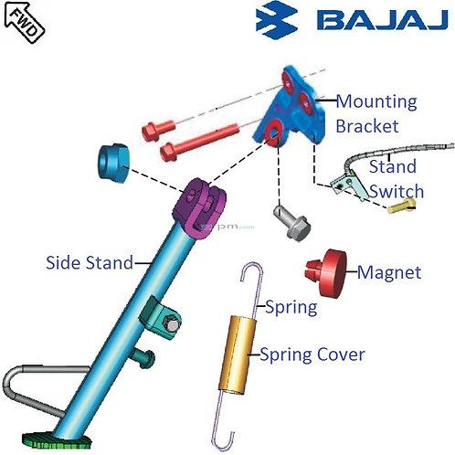 Bajaj Genuine Side Stand for Bajaj Pulsar NS200/160