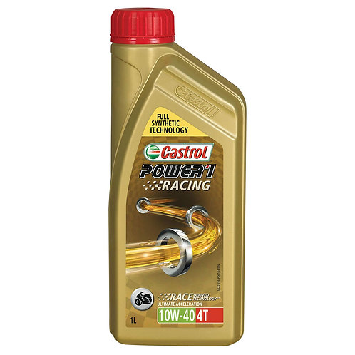 Castrol Power 1 Racing Engine Oil 10W-40 4T, 1 Ltr