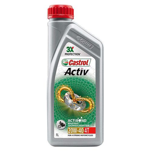 Castrol Activ 4T 20W-40