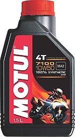 Motul 7100 4T 10W-50 Synthetic Petrol Engine Oil