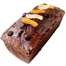 CAKE CHOCOLAT GINGEMBRE ABRICOT