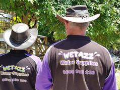 Wet Azz Water Supplies Team